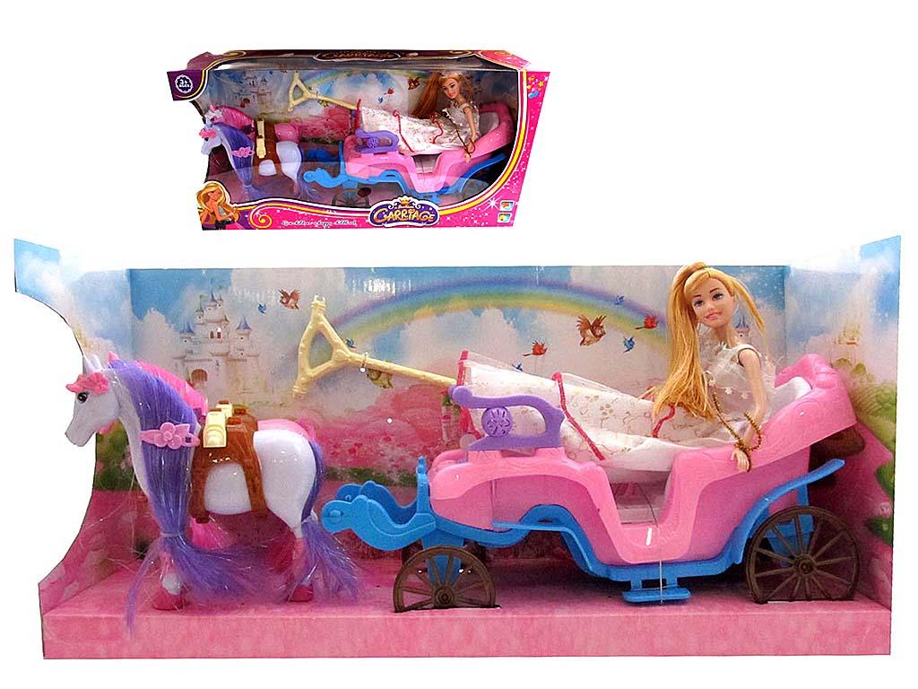 Карета с куклой 686-701