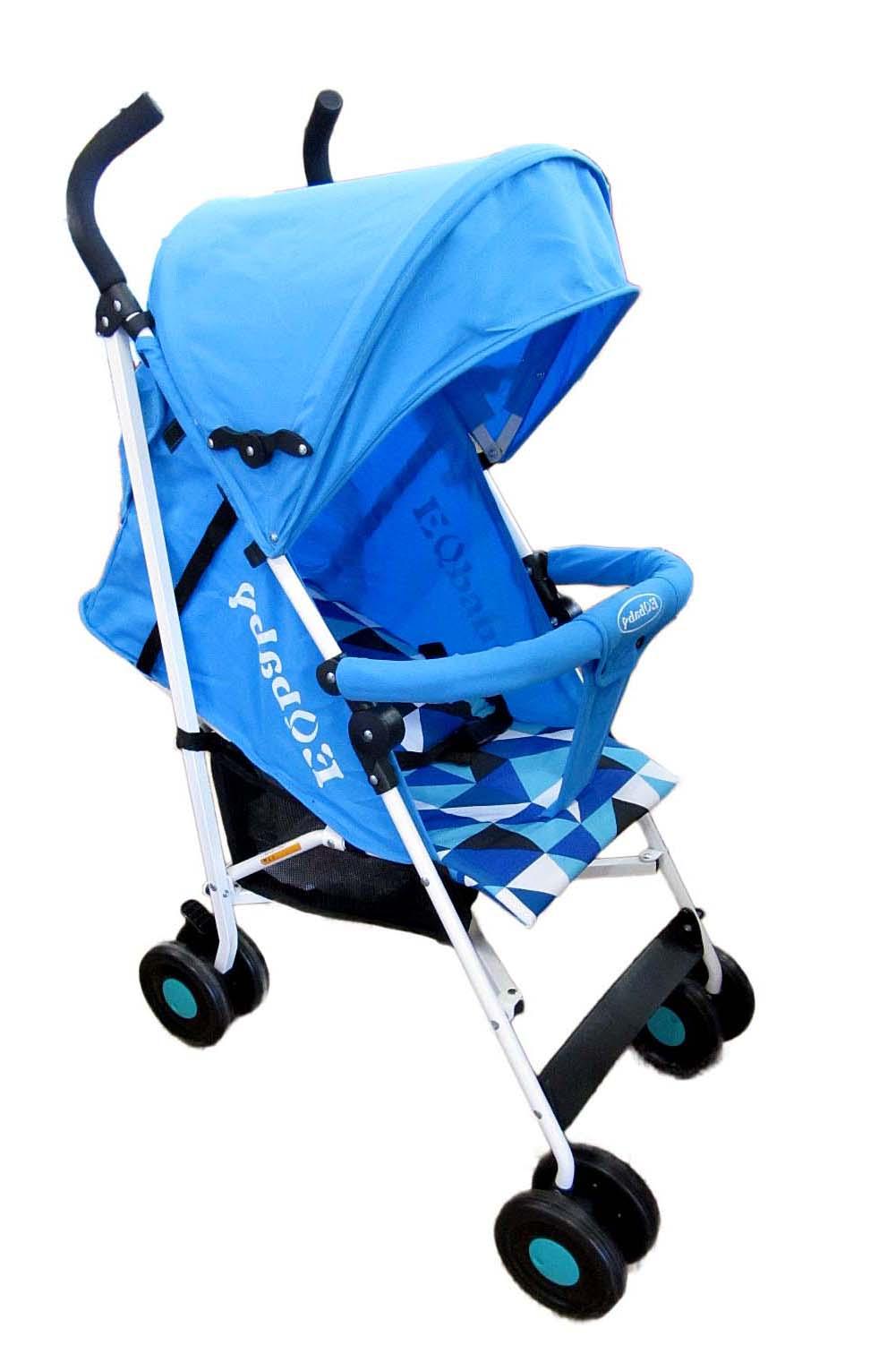 Коляска детская 908(30) 1 голубая