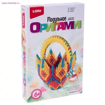 """Модульное оригами """"Корзинка"""" Мб-026"""