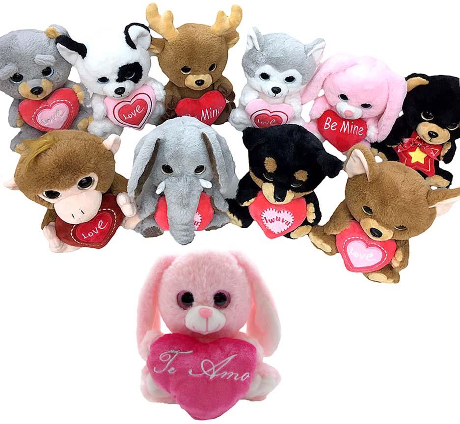 Животные в ассорт мягкая игрушка (w93) 01102