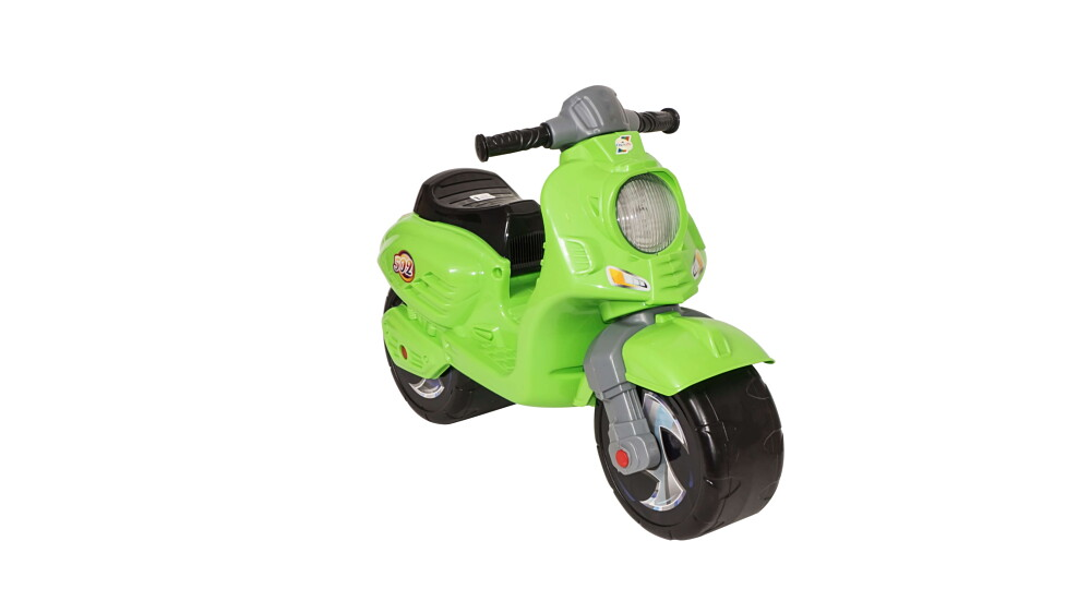 Мотоцикл 502сал СКУТЕР САЛАТОВЫЙ в пакете (3шт)