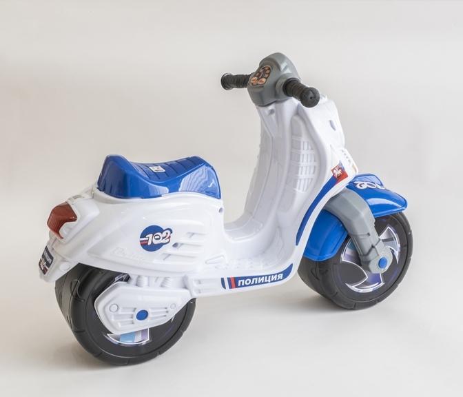 Мотоцикл 502 Пол СКУТЕР ПОЛИЦЕЙСКИЙ в пакете (3шт)