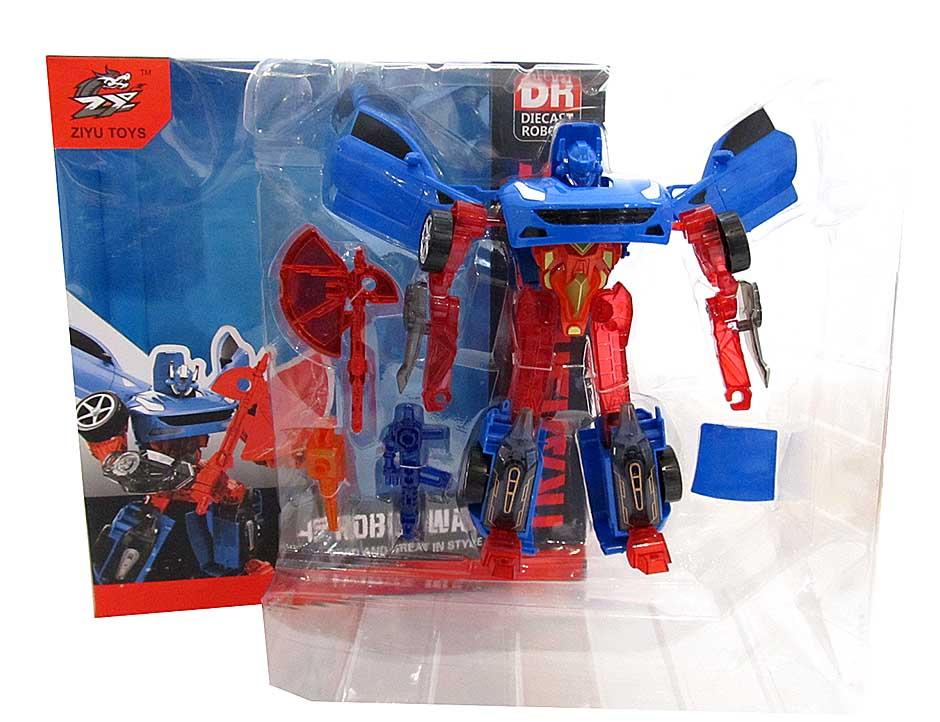 Трансформер-робот №L015-19А/коробка (27,5*10*29