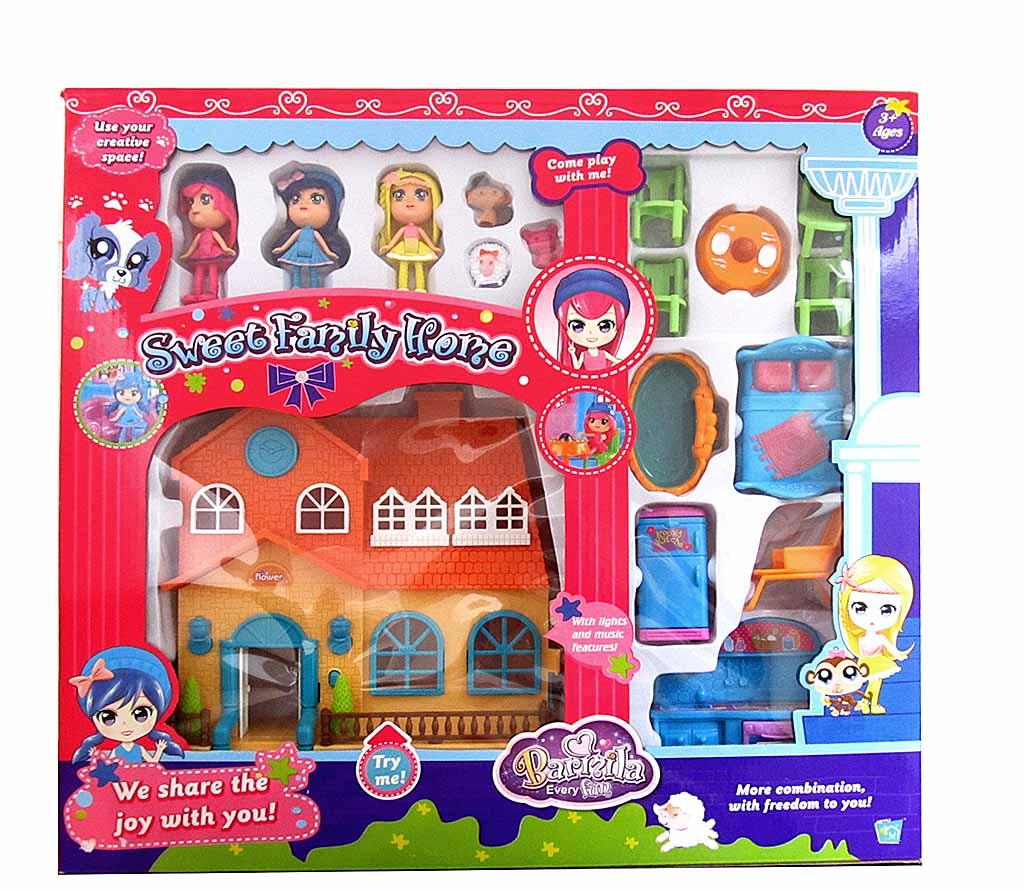 Куклы с набором мебели 60220АВ