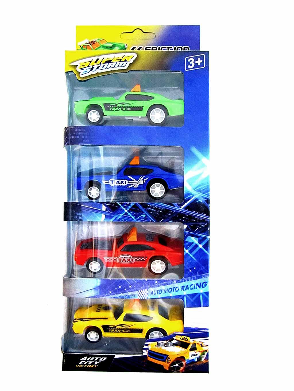 Набор машинок «Такси» №80088-4