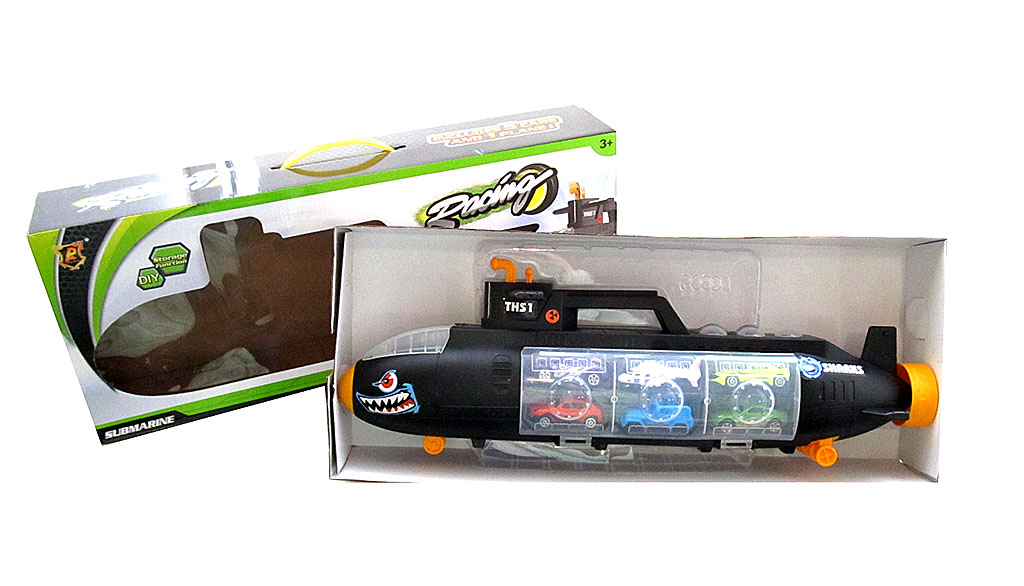 Подводная лодка-слайд №Р864-А/коробка (58*23*11)