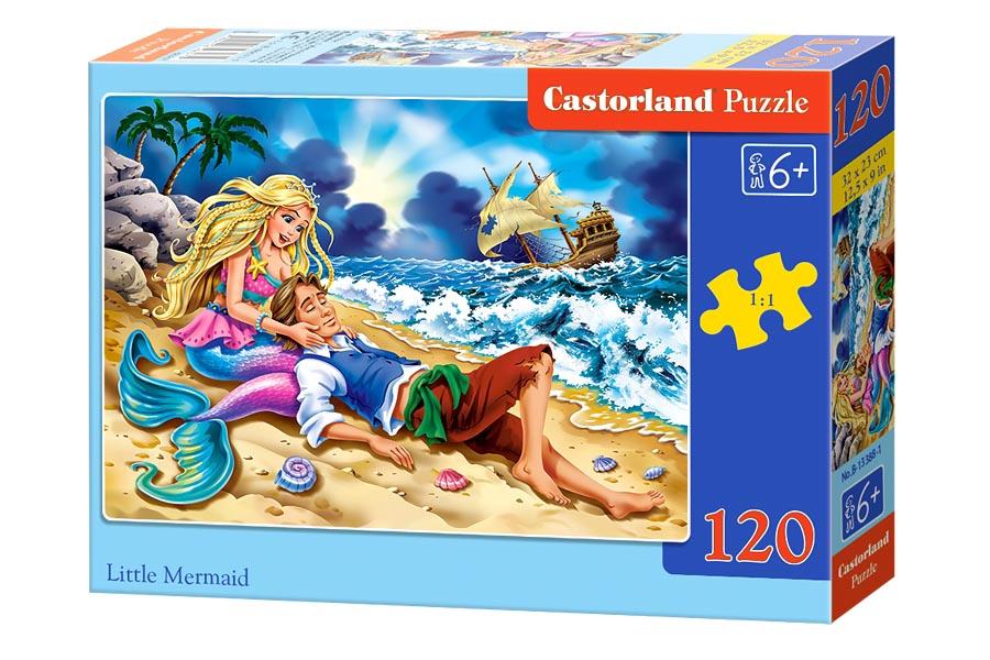 Пазлы Castorland 120 midi 13388