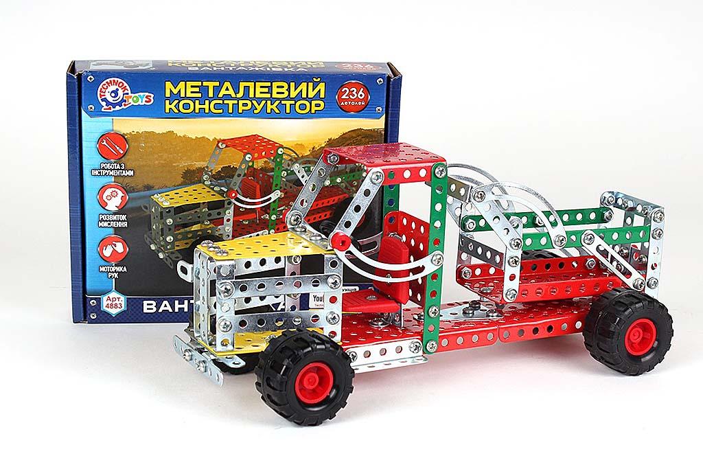 Конструктор метал. ГРУЗОВИК 4883