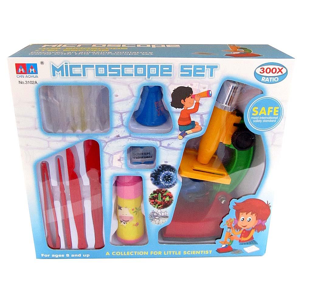 Микроскоп с аксессуарами 3102А