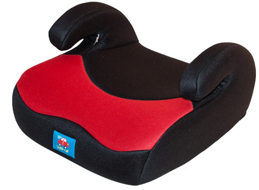 Бустер детский 15-36кг. Little Car 02 В3 красный-черный 116903