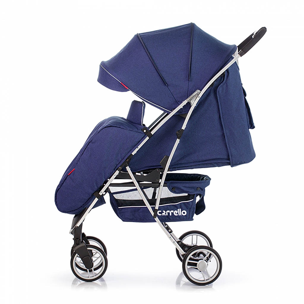Детская коляска CARRELLO Gloria CRL-8506 DARK BLUE/ Shadow Blue