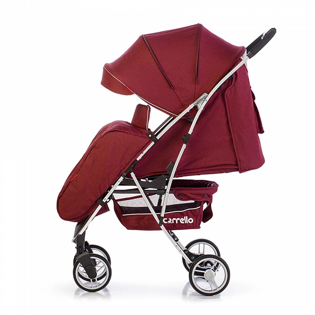 Детская коляска CARRELLO Gloria CRL-8506 RED / Rose Red