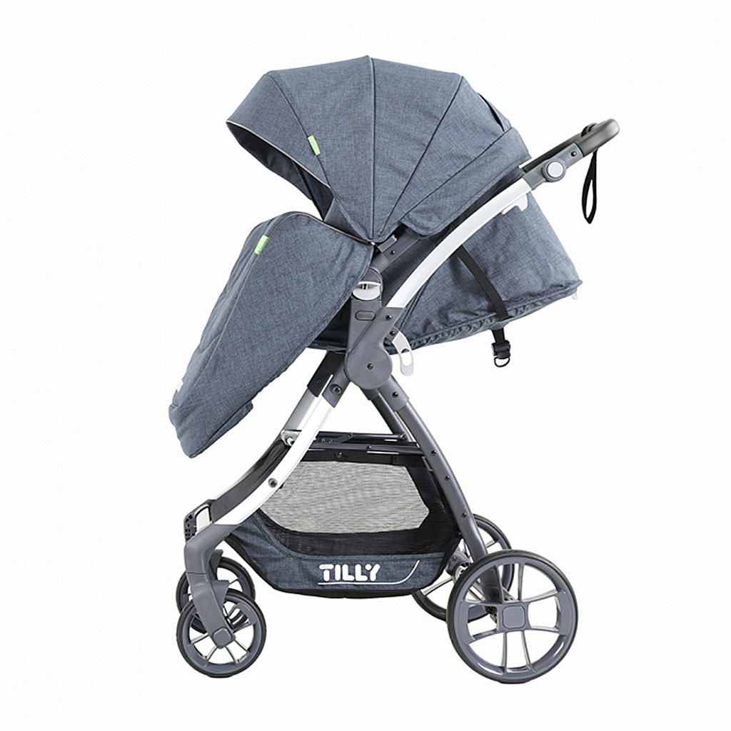 Коляска детская BABY TILLY CROSS T-171 Blue