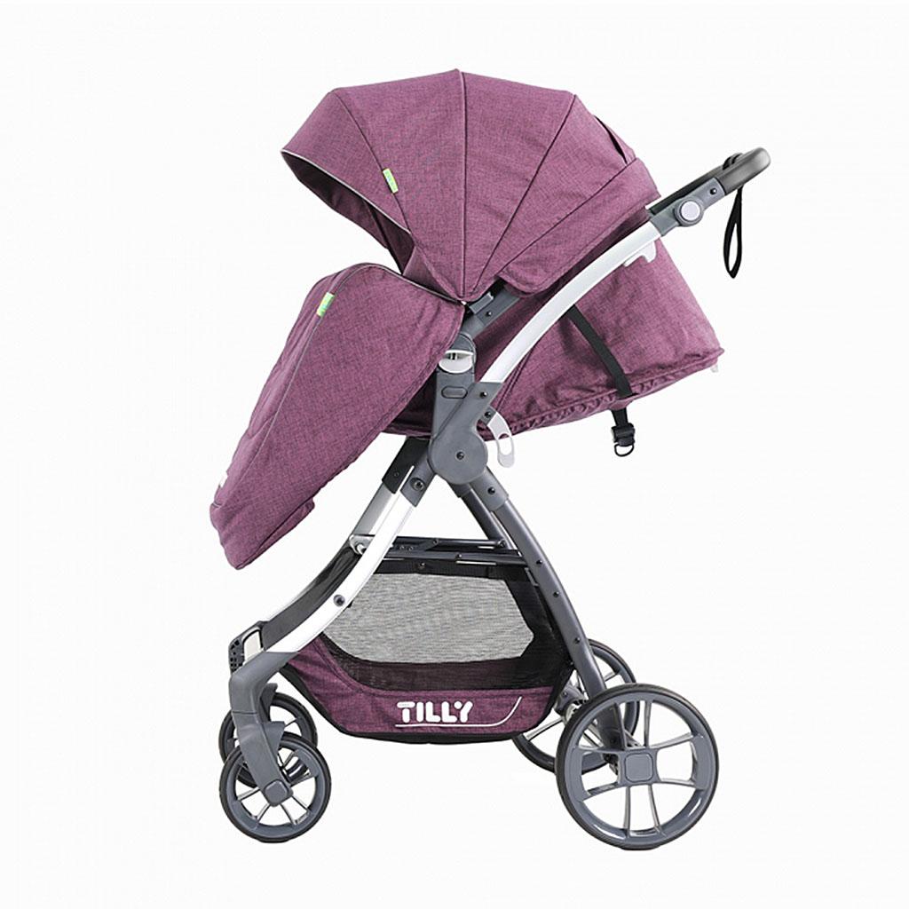 Коляска детская BABY TILLY CROSS T-171 Purple