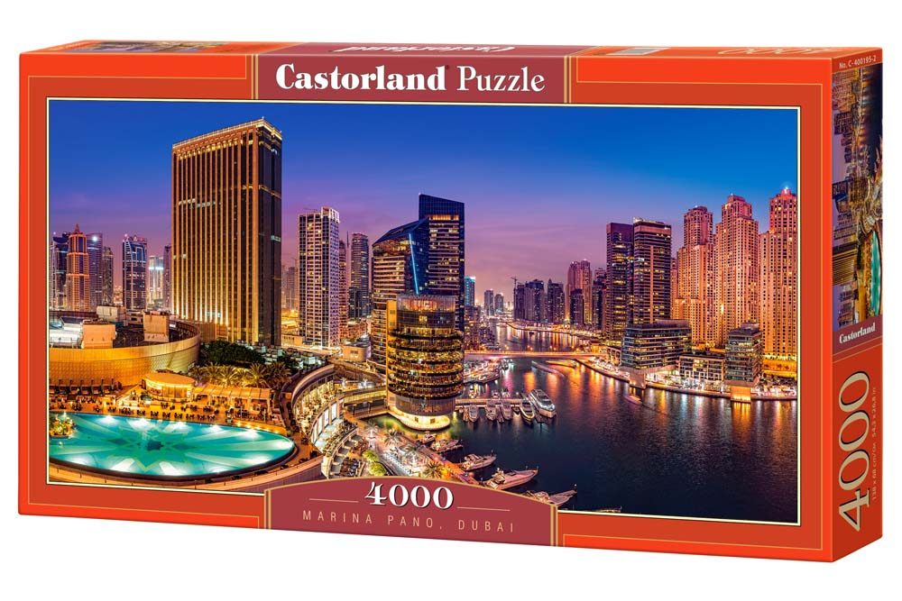 Пазлы Castorland 4000  400195