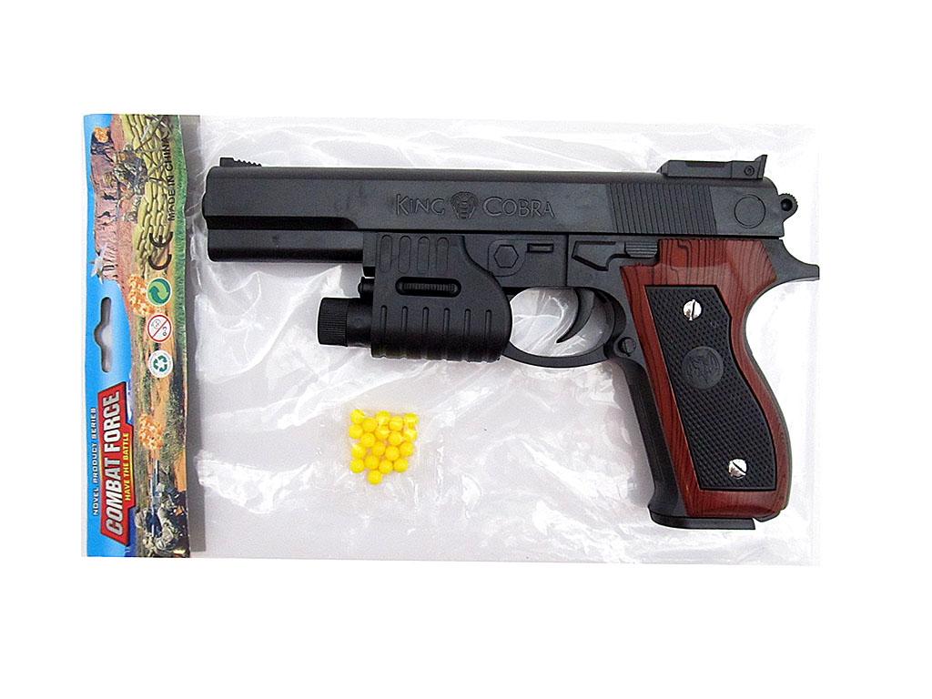 Пистолет №P89H с фонариком/пакет(24*3*14)