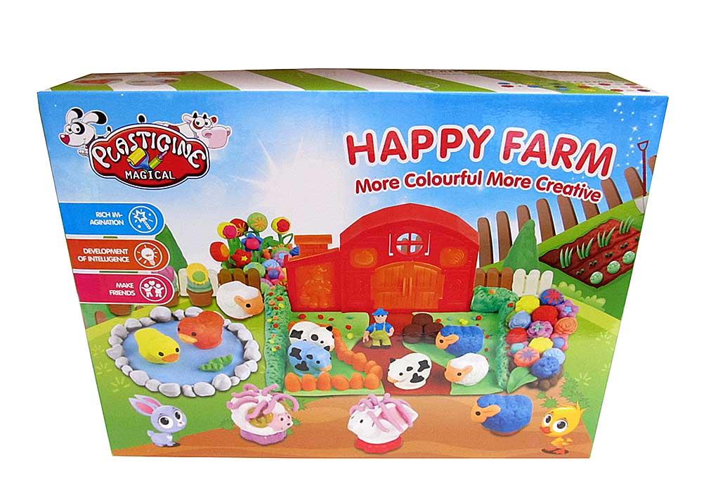 Набор для лепки №9249 «Счастливая ферма»