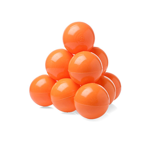 Шарики однот. 100шт Оранжевый