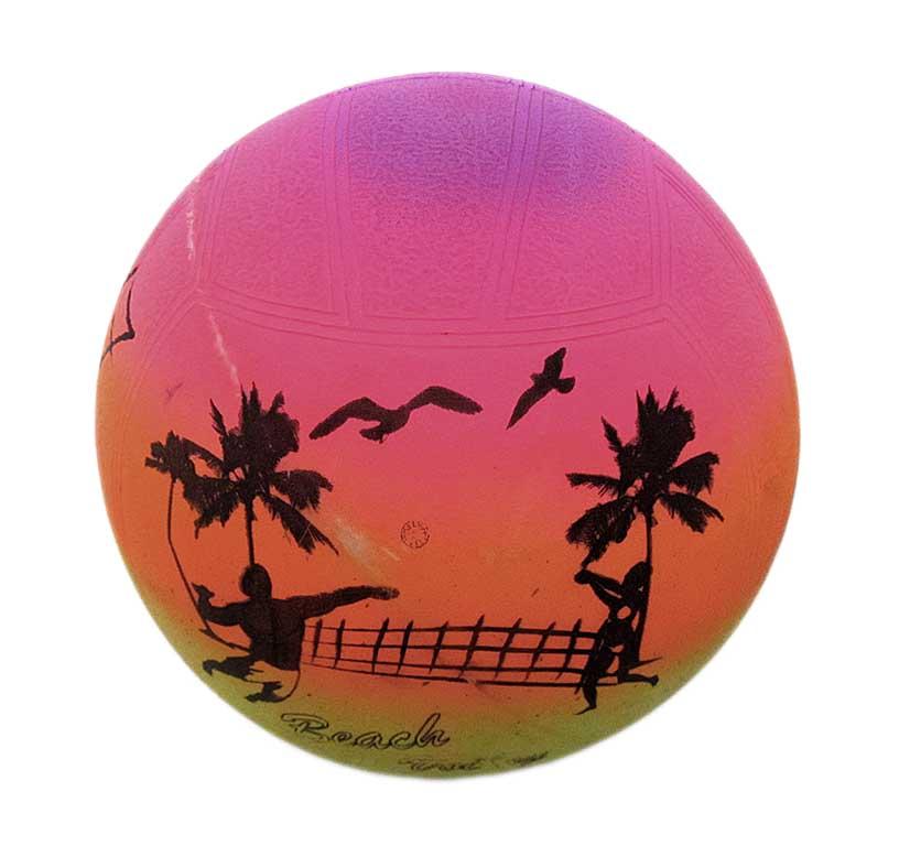 Мяч радуга 1352-17
