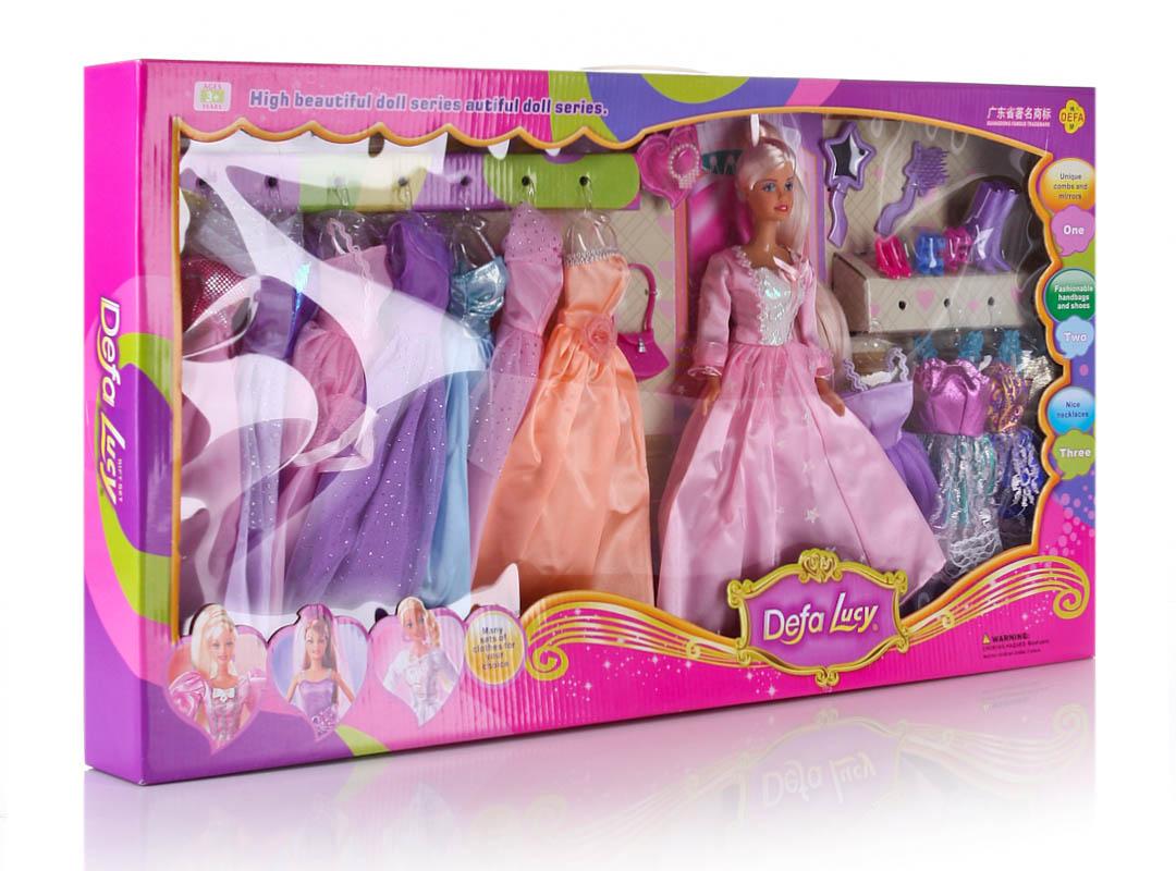 Кукла DEFA (+платья) 8027