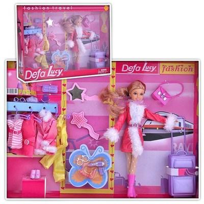 Кукла DEFA8222 (одежд+акссес)