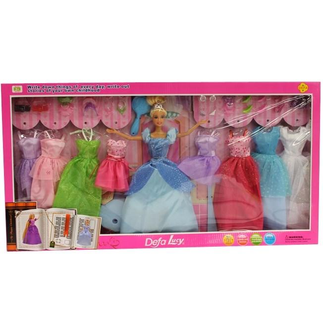 Кукла DEFA 8266 (+платья)