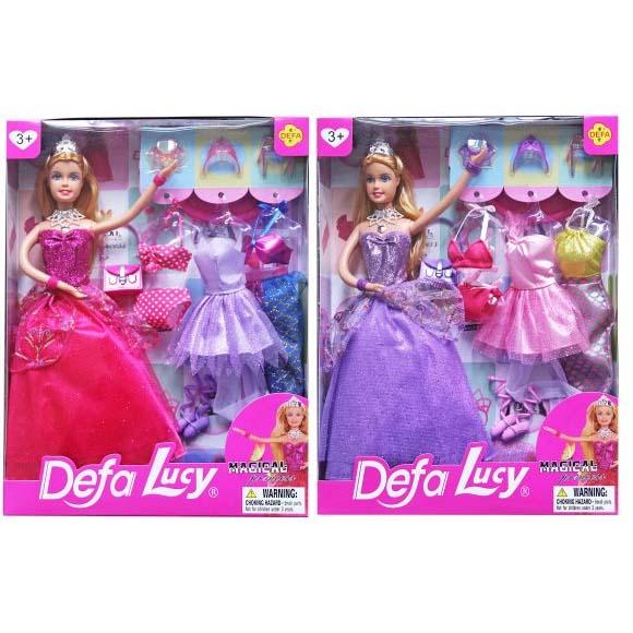 Кукла DEFA 8269 (+платья)