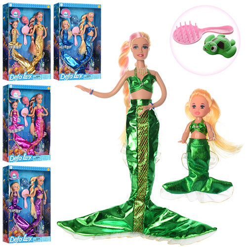 Кукла DEFA 8302 русалка