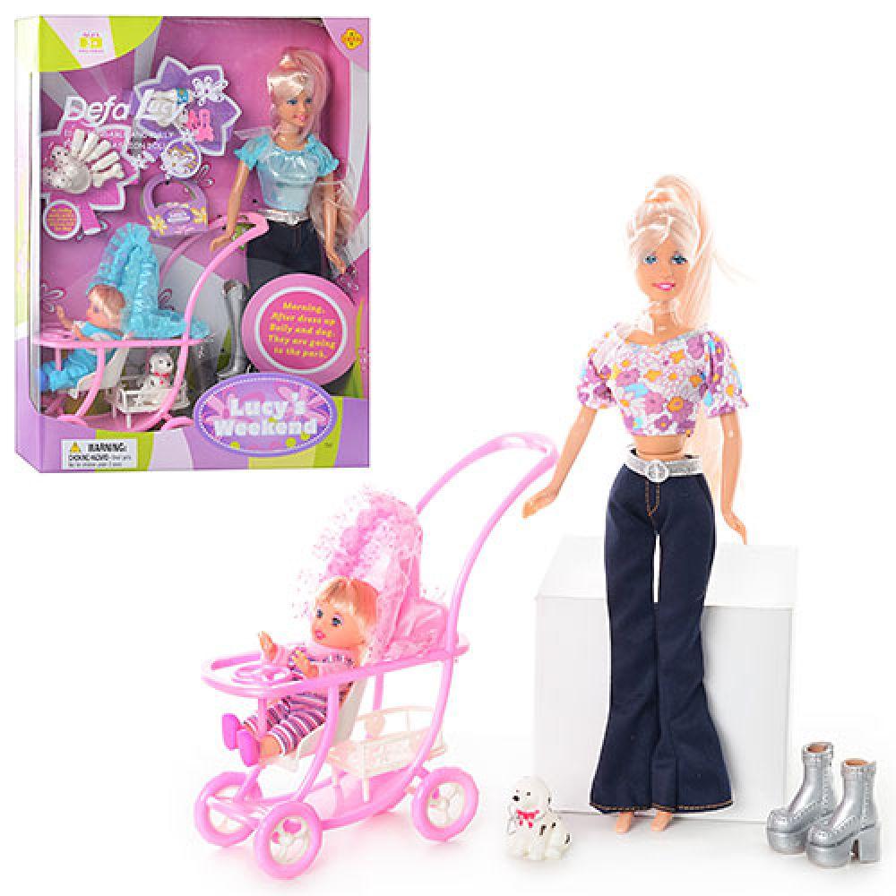 Кукла DEFA 20958А (с коляской)