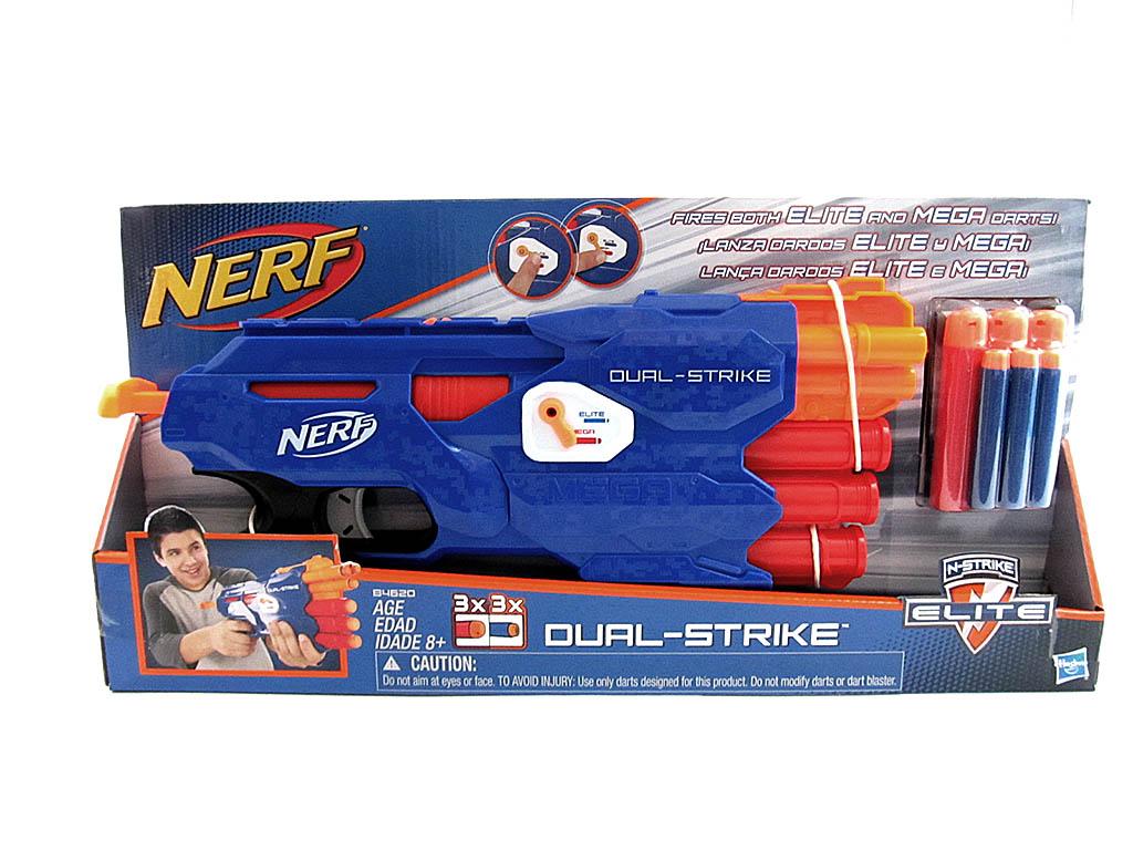 Оружие NERF DUAL-STRIKE В4620 SA20