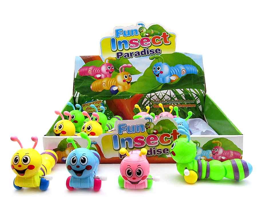 Заводная игрушка Гусеница  643
