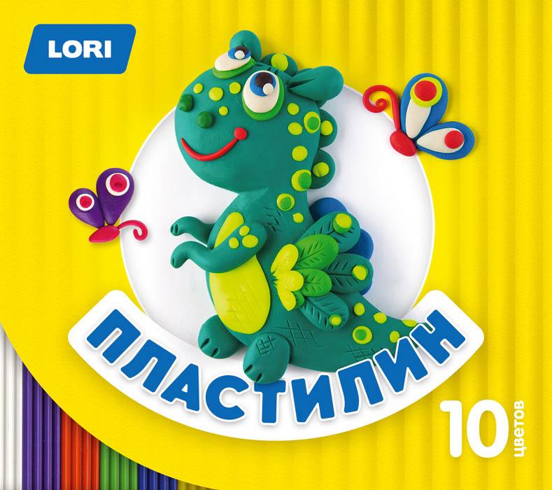 "Пластилин Детский, 10 цветов, по 15 гр., стек""Пл-020"