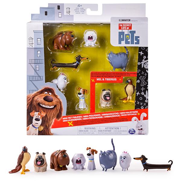 72807 Игрушка Secret Life of Pets 8 мини-фигурок