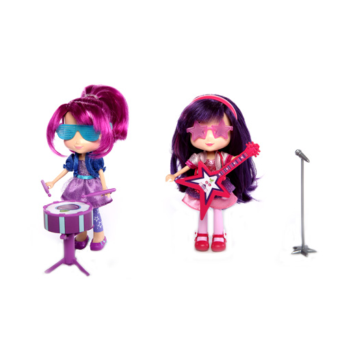 Шарлотта Земляничка Кукла 15 см с музыкальным инстр.12243