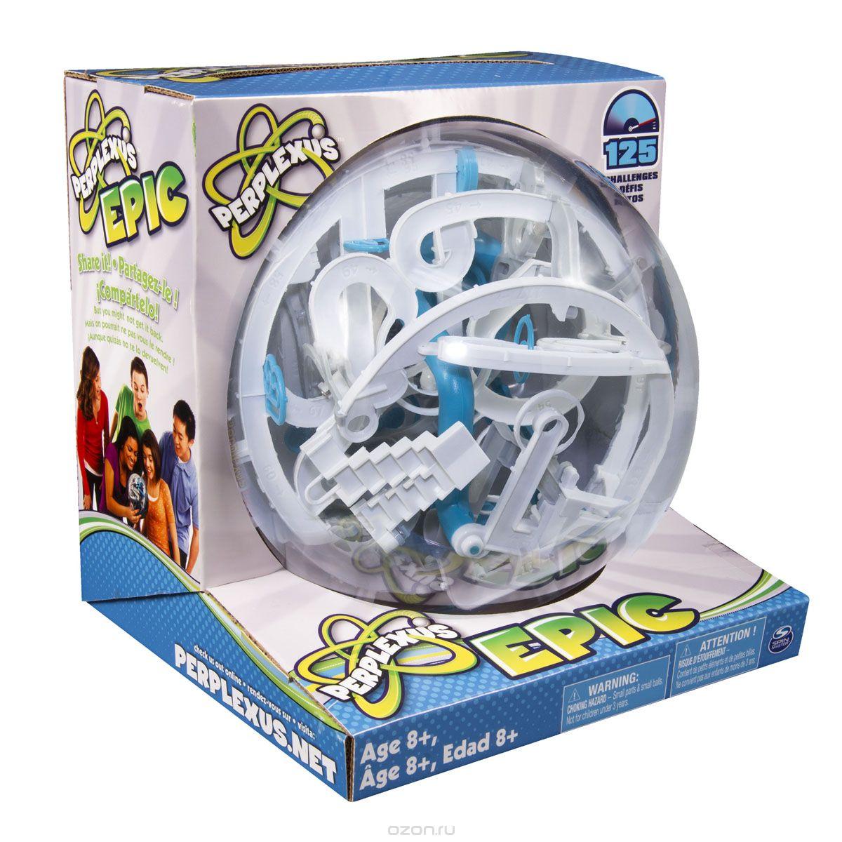 34177 Игра Spin Master головоломка Perplexus Epic, 125 барьеров