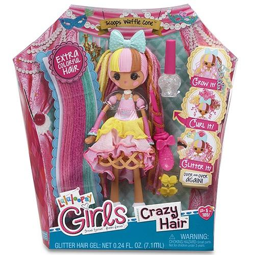 Lalaloopsy Girls, Разноцветные пряди, Сливочный пломбир 537274