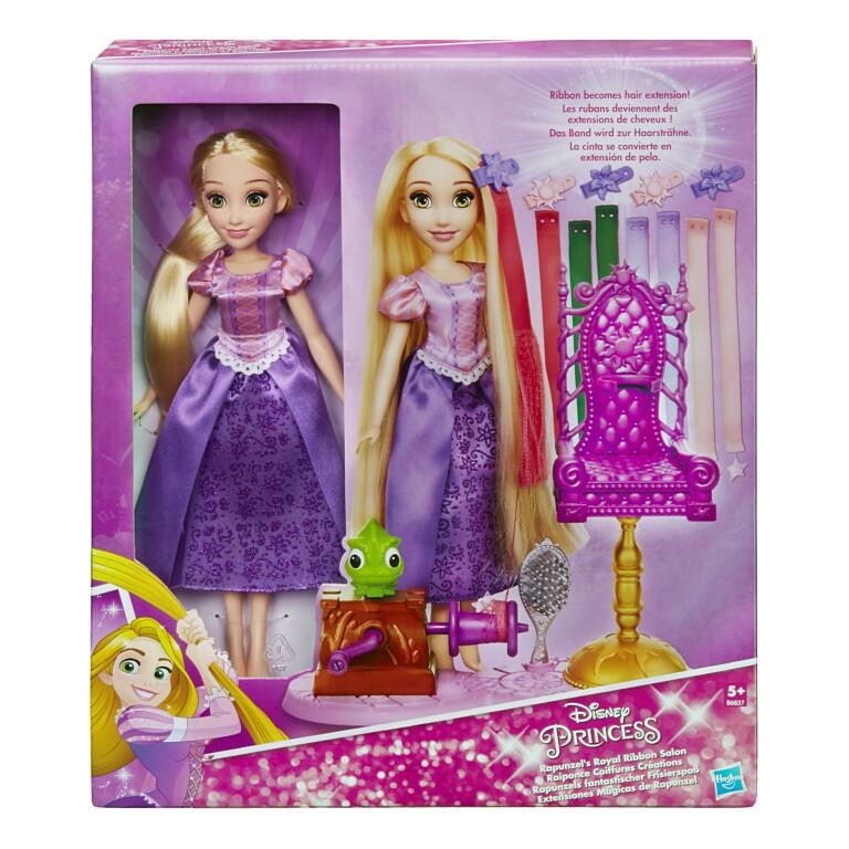 6835 Принцесса  с длинными волосами и аксессуарами в ассорт.