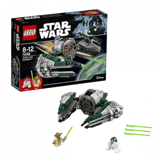 75168  Игрушка Звездные войны Звёздный истребитель Йоды