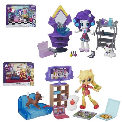 4910  Игровой набор Equestria Girls  для мини-кукол, в ассорт.