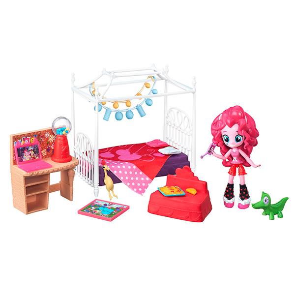 """8824  Игровой набор мини  - кукол MLP Equestria Girls """"Пижамная вечеринка"""""""