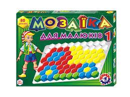 Мозаика для малышей 1 (80 елементов)(Технок)