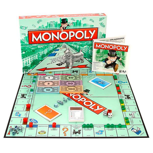 00009  Игрушка игра Монополия
