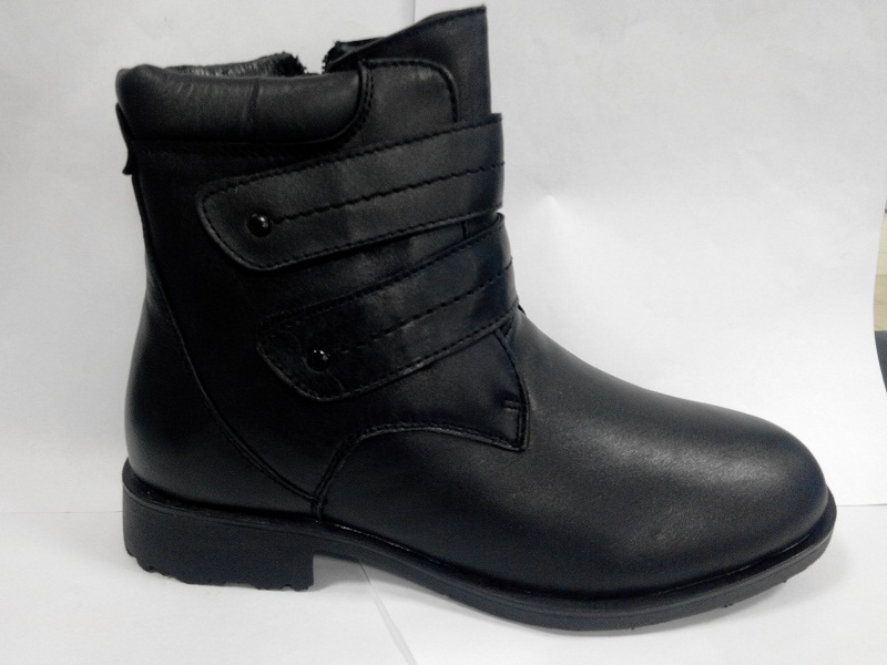 Ботинки 5570 мальчик черный