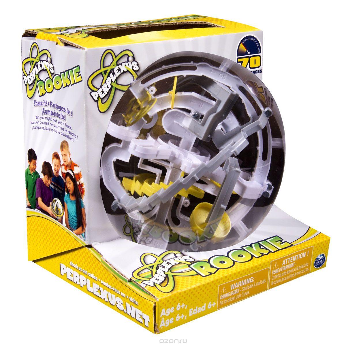 34176 Игра Spin Master головоломка Perplexus Rookie, 70 барьеров
