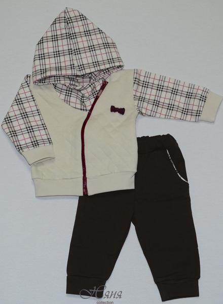 "17732 Кофта, штаны для девочки  ""Barberry sport"" (68-92 капитон) Няня"
