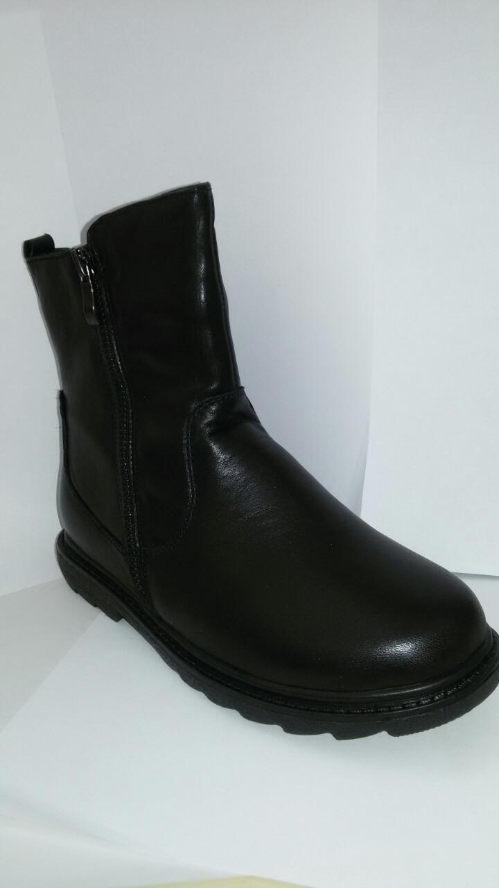 Сапоги 5582 мальчик черный
