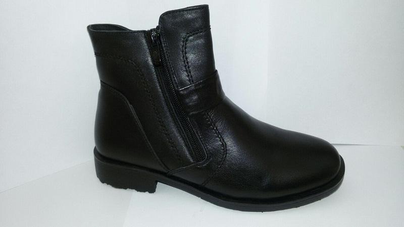Ботинки 5563 мальчик черный