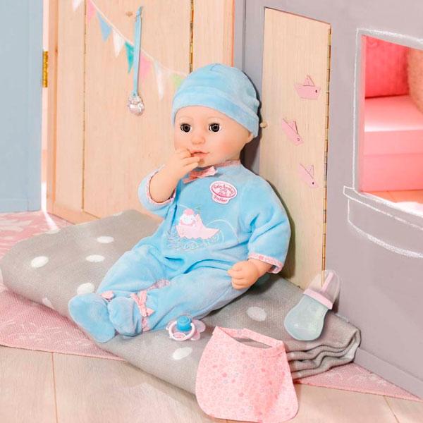 794-654  Игрушка Baby Annabell Кукла-мальчик многофункциональная, 43 см, кор.