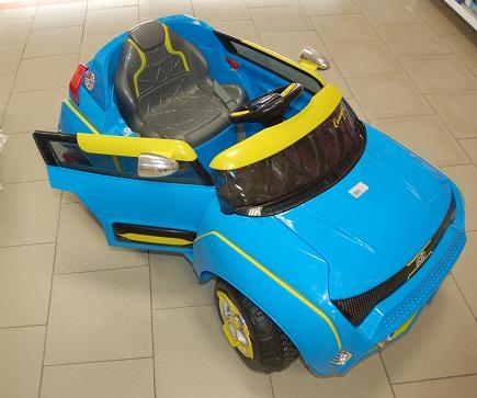 Электромобиль 2808 Голубой