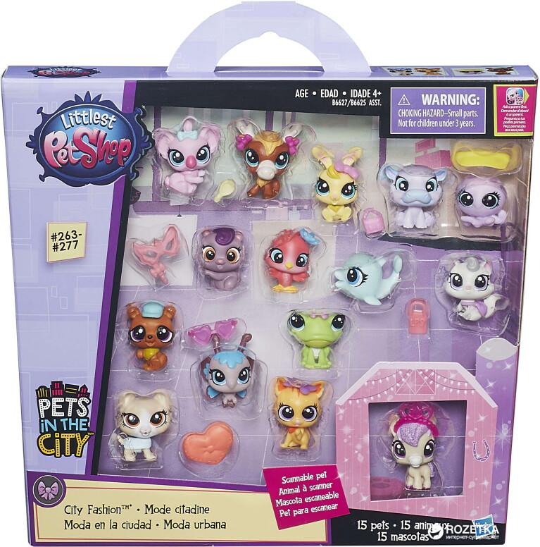 6625В Игрушка Hasbro LPS ЛПС Набор зверюшек - малышей